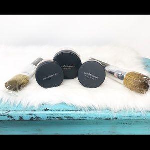 bareMinerals 5pc C10 Warmth Mineral Veil 2 Brushes